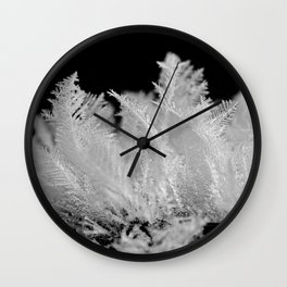 like feathers Wall Clock