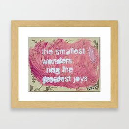 Sweet Life Framed Art Print