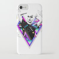 kris tate iPhone & iPod Cases featuring Heart Of Glass - Kris Tate x Ruben Ireland by Ruben Ireland