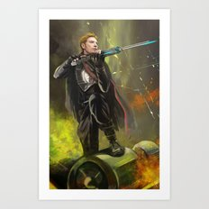 Sniper Hux Art Print
