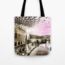 Futuristic London Art Tote Bag