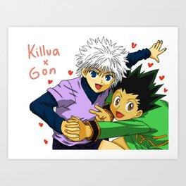 KilluGon Art Print