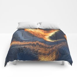 Project Distortion Comforters