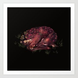 Deer Dear Deer Art Print
