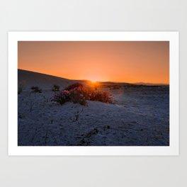 Sundown New Mexico  Art Print