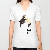 jack V-neck T-shirts featuring Jack by bananadeaf