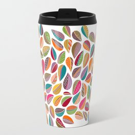 Leaf Colorful Travel Mug
