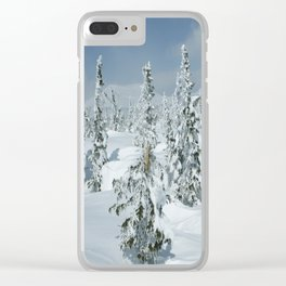 Winter day 24 Clear iPhone Case
