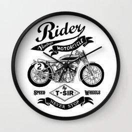 Rider Wall Clock