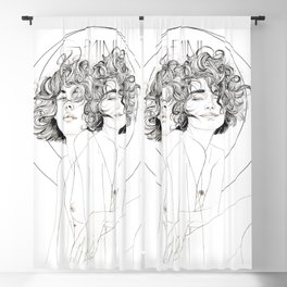 Gemini Zodiac (The Twins) Blackout Curtain