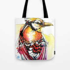 Crazy Jay Tote Bag