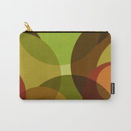 Green Circle Abstract Carry-All Pouch