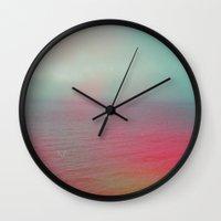 palestine Wall Clocks featuring The Dead Sea, Palestine by ear2ear