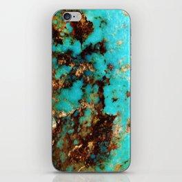 Turquoise I iPhone Skin