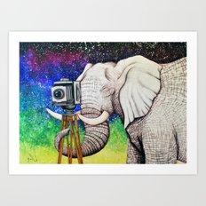 Elephant II Art Print