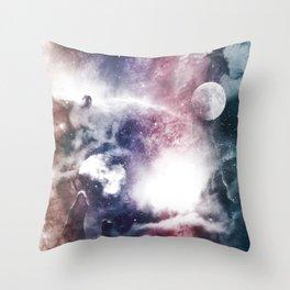 Nibuleuse Throw Pillow