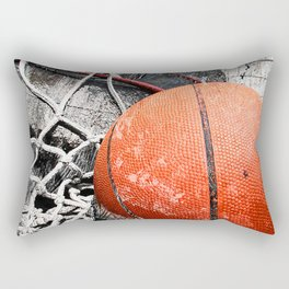 Modern Basketball Art 8 Rectangular Pillow