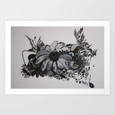 El Pez Art Print