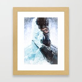 sub zero Framed Art Print