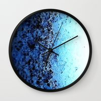 crystals Wall Clocks featuring CrystalS by 2sweet4words Designs