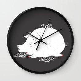 I'M SO FULL Wall Clock