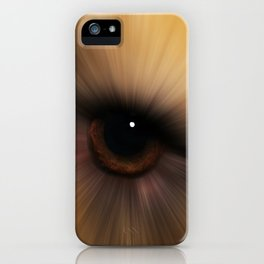 Eye of a Dog iPhone Case