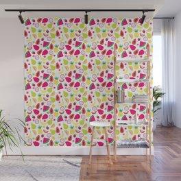 Tutti Frutti Summer Fruit Pattern Wall Mural