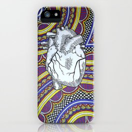 Oh The Heart (Full) iPhone Case