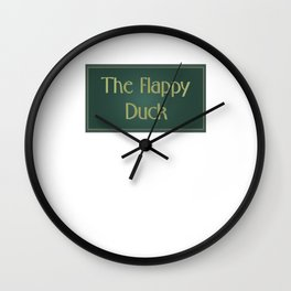 The Flappy Duck - The IT Crowd Wall Clock