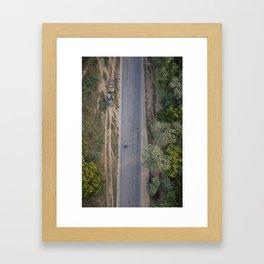 ABOVE IT ALL Framed Art Print