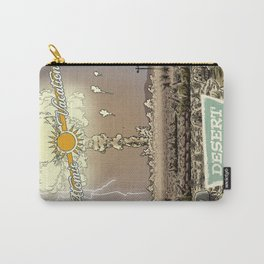Atomic Vacation at Desert Rock Carry-All Pouch