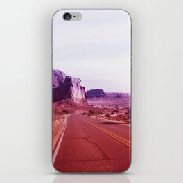 Red Desert Road Arches Utah iPhone Skin