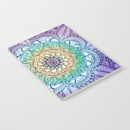 Purple Butterfly Mandala Notebook
