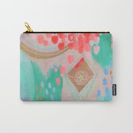 Floral Ascension Carry-All Pouch