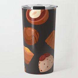 chocolate pattern Travel Mug