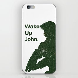 Wake Up John - Halo 4 iPhone Skin