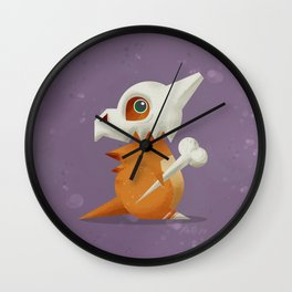 104 Cubone Wall Clock