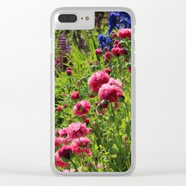 Garden Color Donegal Ireland Clear iPhone Case