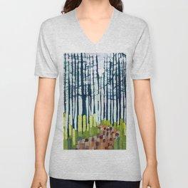 Spring forest Unisex V-Neck