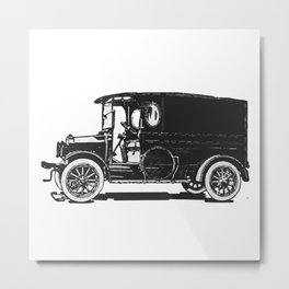 Old car 7 Metal Print