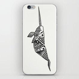 Unicorn of the seas iPhone Skin
