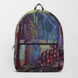 Wine collage Backpack