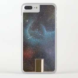 Door to the world Clear iPhone Case