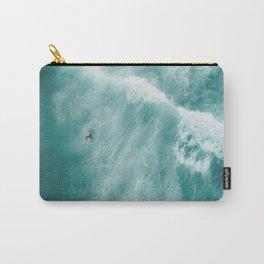 Surfer Surfing Bondi Beach Carry-All Pouch