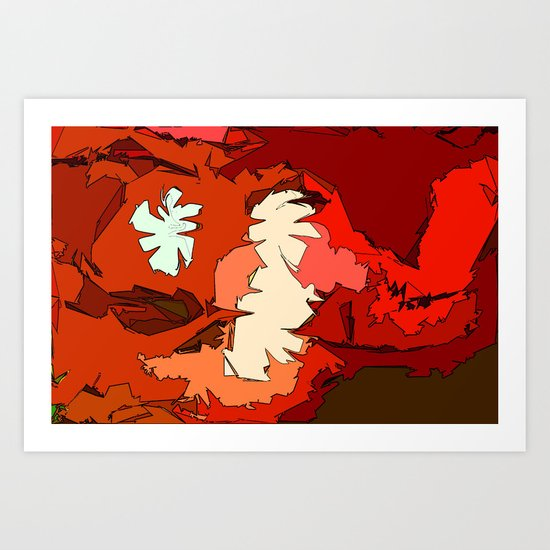 Cream of Tomato Soup  Art Print
