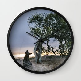 Howl by The Labs & Co. Wall Clock