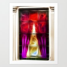 Window Abstract Art Print