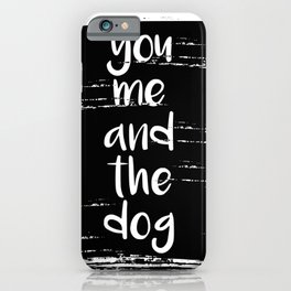 We are happy family iPhone Case