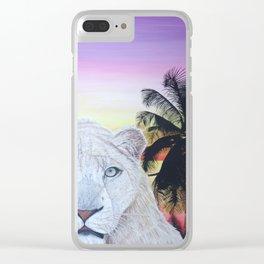 L'amour à deux Clear iPhone Case