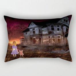 Alice na Casa Assombrada Rectangular Pillow